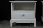 Picture of Pair of Stag One Drawer and Shelf Bedside Tables