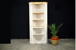 Picture of Pine Corner Display Cabinet - one piece