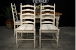 Picture of Farmhouse Style Table + 4 Ladderback chairs