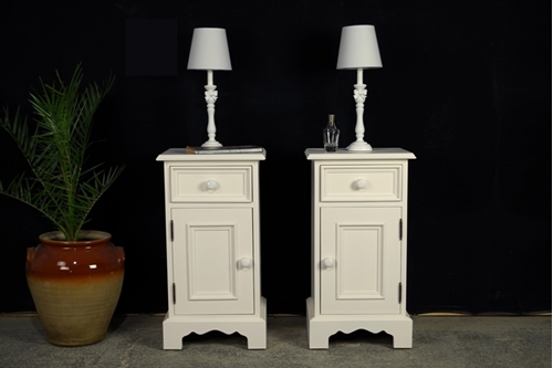 Picture of Two New Pine Bedside Cabinets