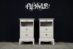Picture of Pair of Stag Tea Shelf Bedside Tables