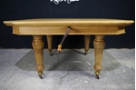 Picture of Antique Oak MacKenzie & Mitchell Wind-Out Table (1870)