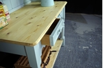 Picture of Pine Pot Board Dresser in Moonstone