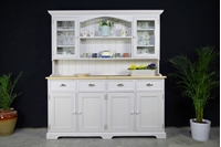 Picture of Large Country style Dresser - 4 Door Base - Spell Grey