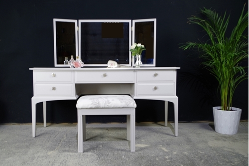 Picture of Stag Dressing Table with Stool - Pavilion Roses