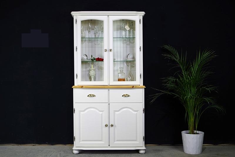 Picture of Two door Pine Glazed Display Dresser