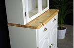 Picture of Two door Pine Glazed Display Dresser