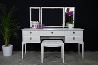 Picture of Stag Dressing Table with Stool - Ammonite & Teardrop