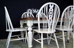 Picture of Victorian Wind Out Table and six Wheelback Chairs