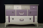 Picture of Stag Travel Themed Six Drawer Chest - To order