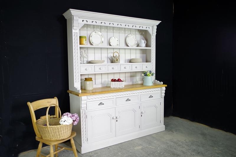 The Scarborough Dresser Painted Vintage Antique