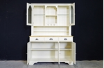 Picture of Ducal Country Pine Dresser in Pale Linen