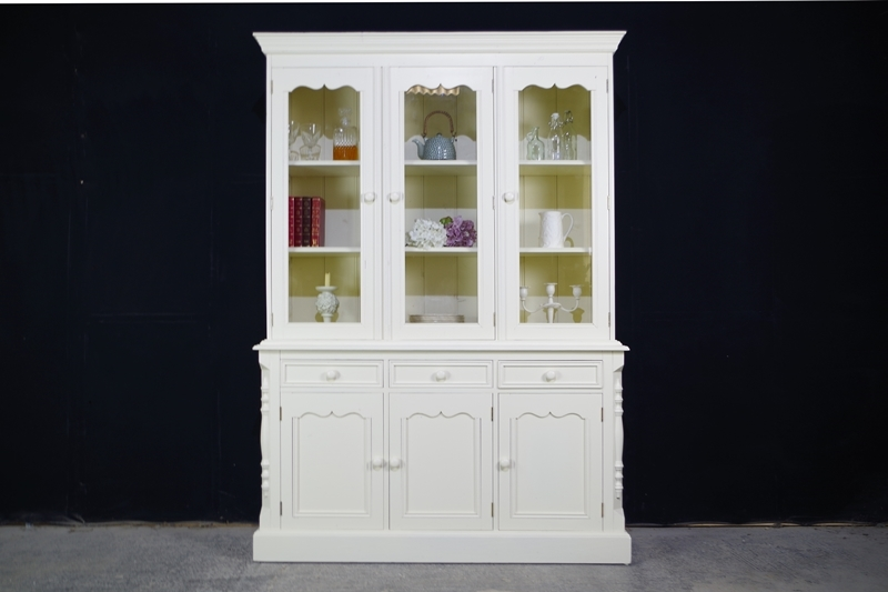 Pine Display Dresser Cabinet In New