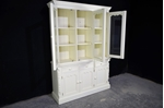 Picture of Pine Display Dresser / Cabinet in New White