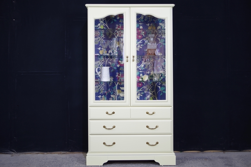 Picture of Vintage Style Display Cabinet with drawers