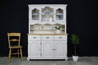 Picture of Country Style Farmhouse Pine Dresser - Cornforth White