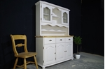 Picture of Country Style Farmhouse Pine Dresser - Cornforth White