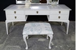 Picture of Stag Minstrel Dressing Table +Stool -Ammonite -Birds & Blossoms