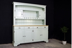Picture of Ducal 4 door Pine Dresser in 'Tinkerbell'.