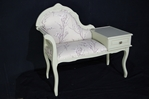 Picture of Vintage Telephone Seat in French Gray