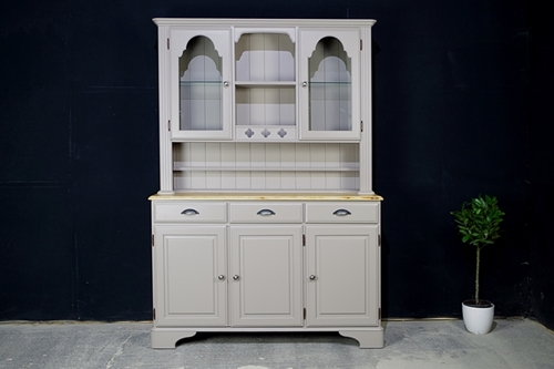 Picture of Ducal Country Pine Dresser in Charleston Gray