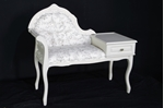 Picture of Vintage Telephone Seat in Cornforth White