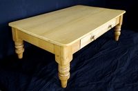 Picture of Antique Pine Farmhouse Coffee Table