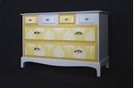Picture of Stag Six Drawer Chest Mustard Annabelle Tree