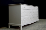 Picture of Stag Long Eight Drawer Chest - Lace Effect