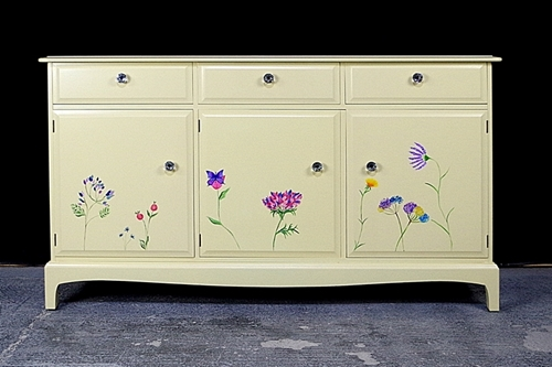Picture of Stag Sideboard - Flower Art