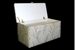 Picture of Fully Upholstered Ottoman/ Storage chest
