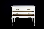 Picture of Vintage French Louis XV Oak Chest of Drawers