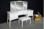 Picture of Stag Dressing Table and Stool - Oriental Lanterns