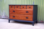 Picture of Industrial Themed Stag Six Drawer Chest
