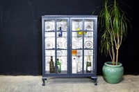 Picture of Two Door Glass Display Cabinet - Drinks Time