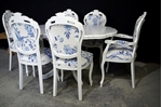 Picture of French Style Dining Set -Laura Ashley Upholstery