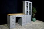 Picture of Vintage Pine Kneehole Desk