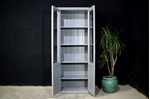 Picture of Tall Pine Display Cabinet / Bookcase