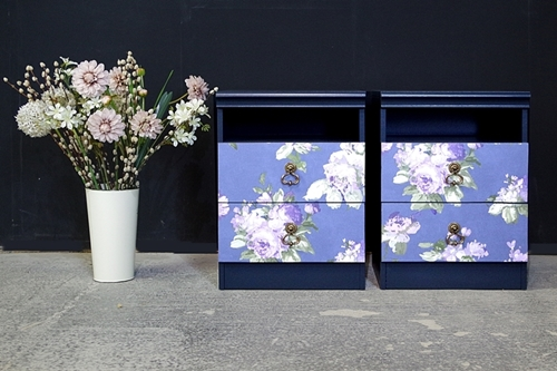 Picture of Pair of Vintage Avalon Bedside Drawers