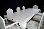 Picture of Giant Hooker Vintage Extending Table with 8 French Style Bergere Chairs