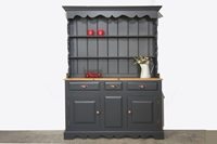 Picture of Rustic Pine Dresser - Off Black