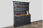 Picture of Rustic Pine Dresser - Off Black