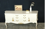 Picture of Vintage Gold and Feather Sideboard