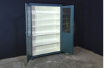 Picture of Antique Rustic Pine Storage Display Cabinet / Larder