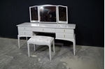 Picture of Stag Dressing Table with Stool in Pavilion Gray