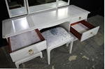 Picture of Stag Minstrel Double Pedestal Dressing Table and Stool