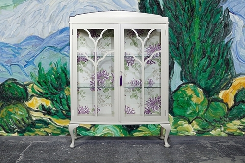 Picture of Vintage Two Door Glass Display Cabinet