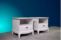 Picture of Pair of Stag Minstrel Single Drawer Bedside Tables
