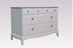 Picture of Stag Six Drawer Chest in Skimming Stone