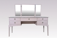 Picture of Stag Minstrel Dressing Table in Orchard Pink